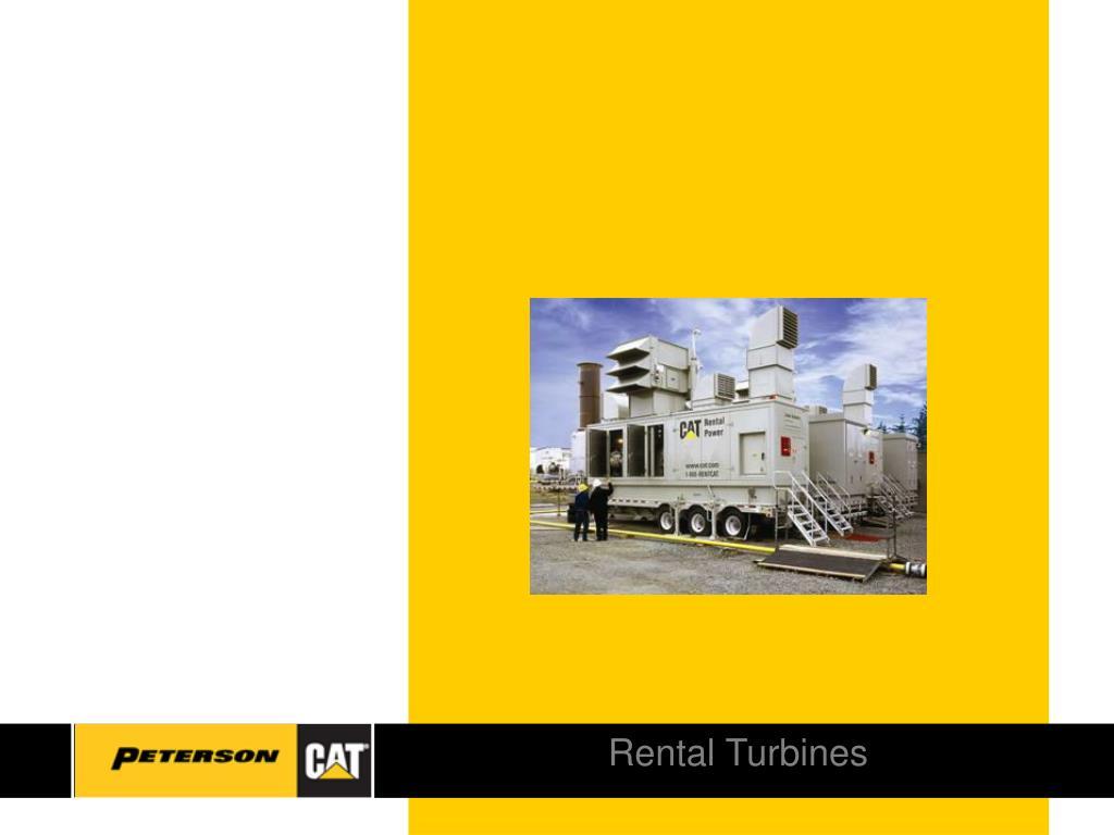 Rental Turbines