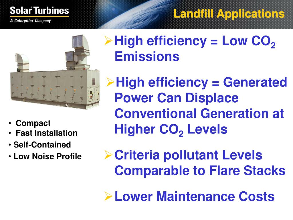 Landfill Applications