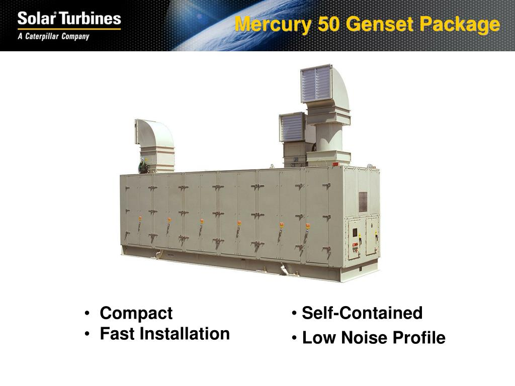 Mercury 50 Genset Package