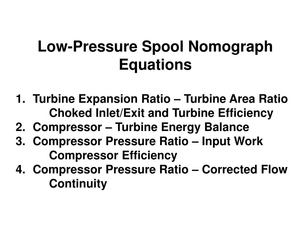 Low-Pressure Spool