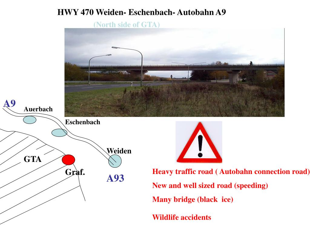 HWY 470 Weiden- Eschenbach- Autobahn A9