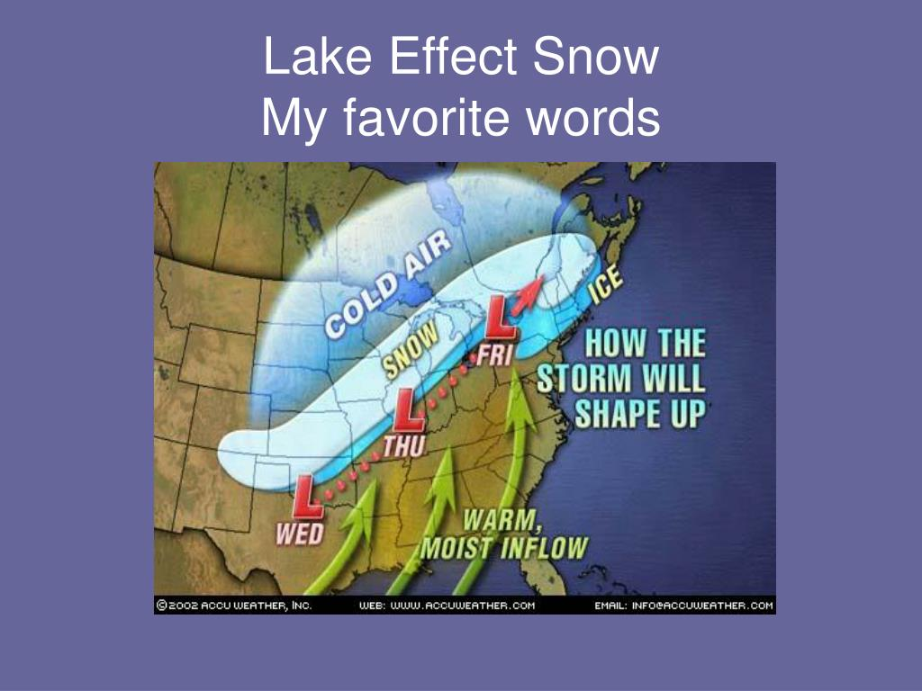Lake Effect Snow