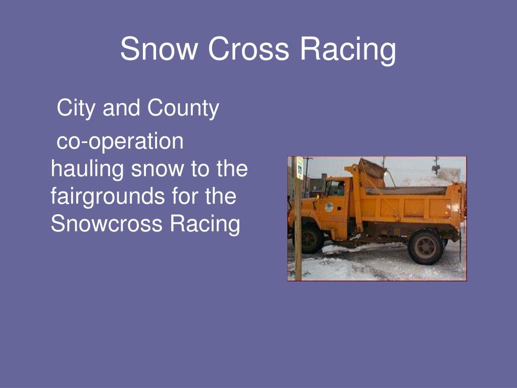 Snow Cross Racing