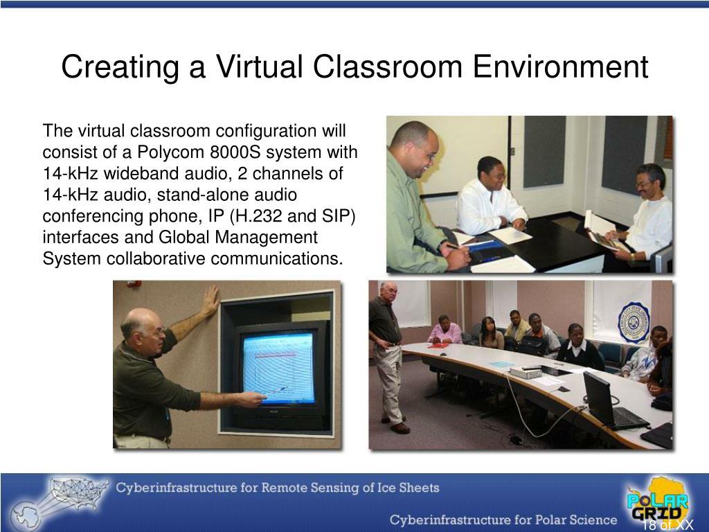 Creating a Virtual Classroom Environment