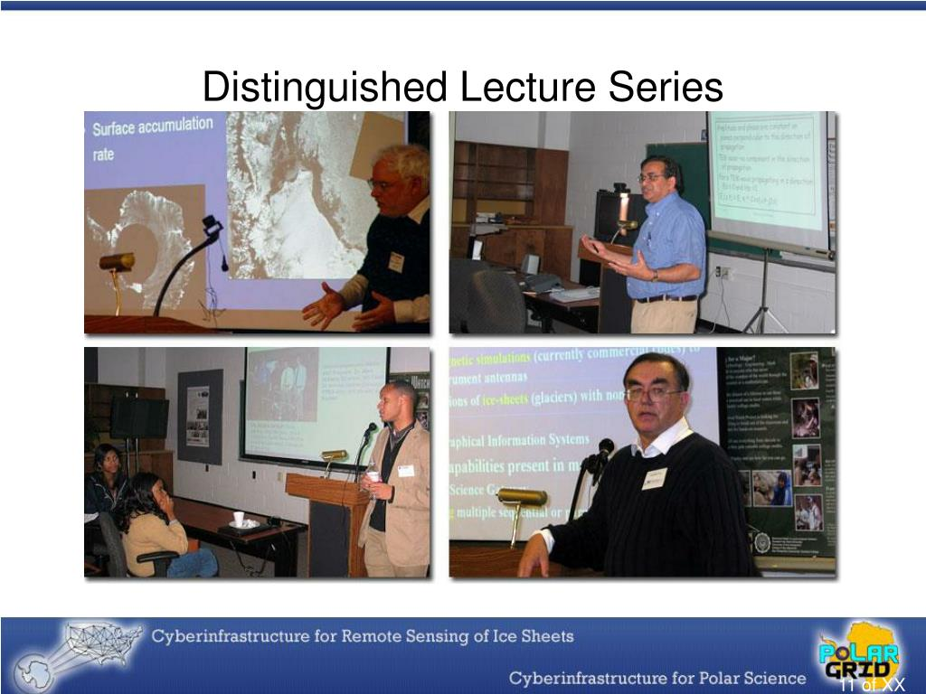 Distinguished Lecture Series