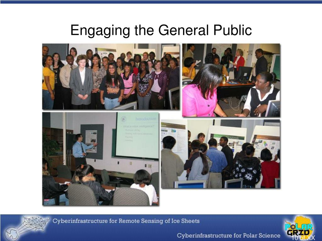 Engaging the General Public