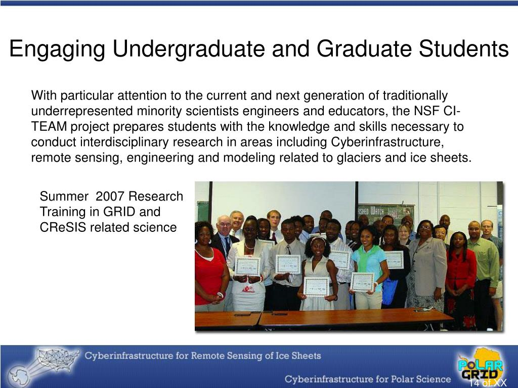 Engaging Undergraduate and Graduate Students