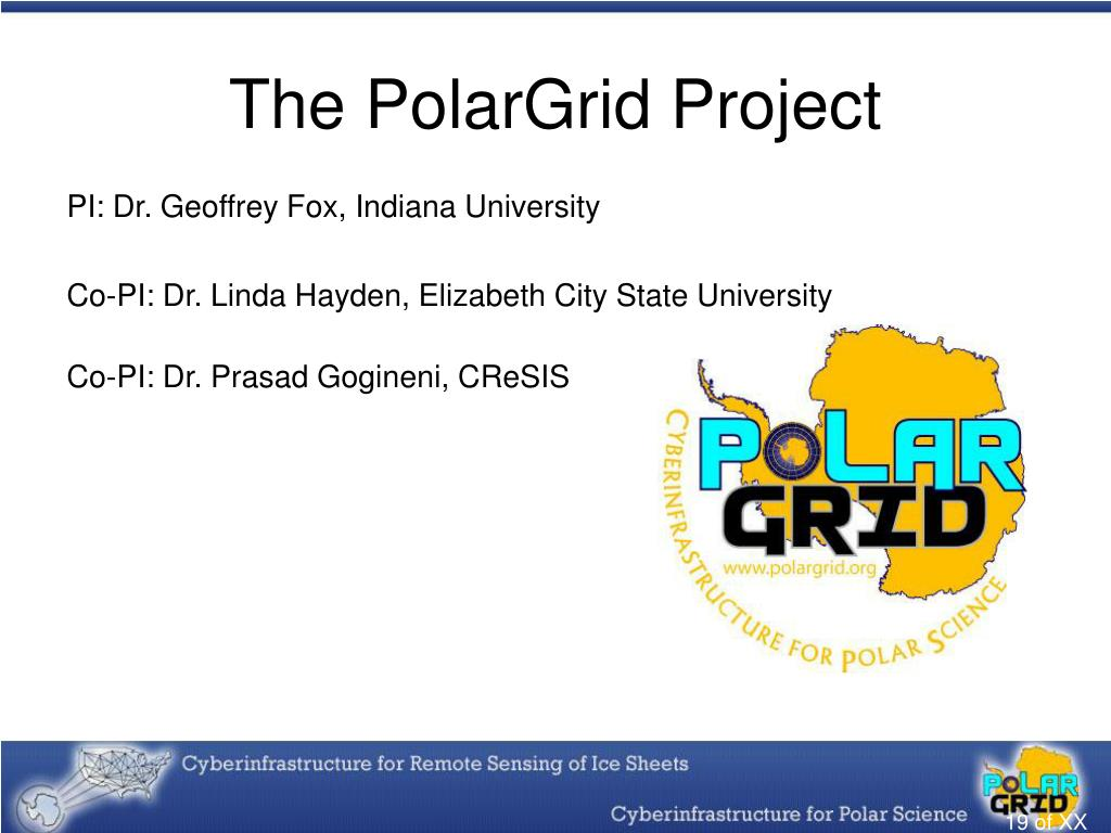 The PolarGrid Project