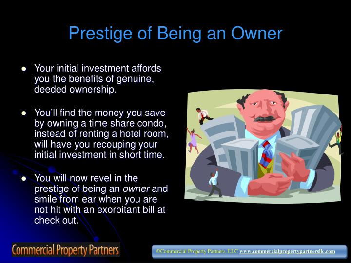 Prestige of Being an Owner
