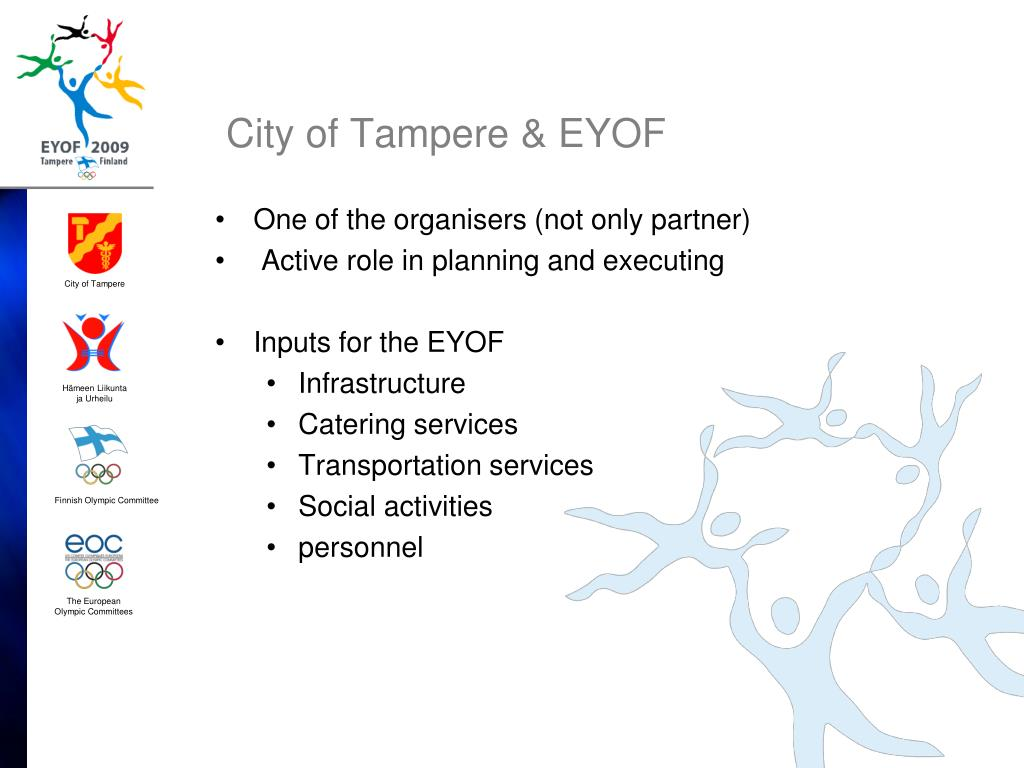 City of Tampere & EYOF