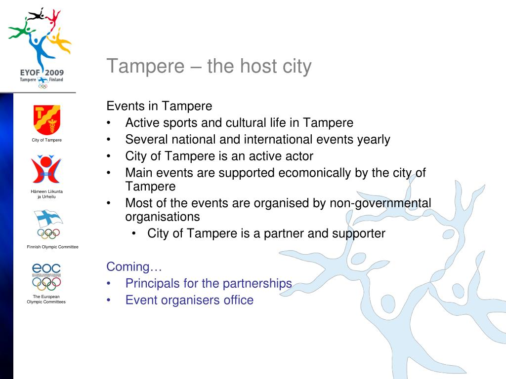 Tampere – the host city