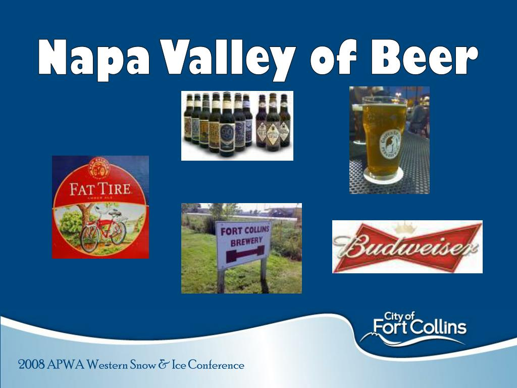 Napa Valley of Beer