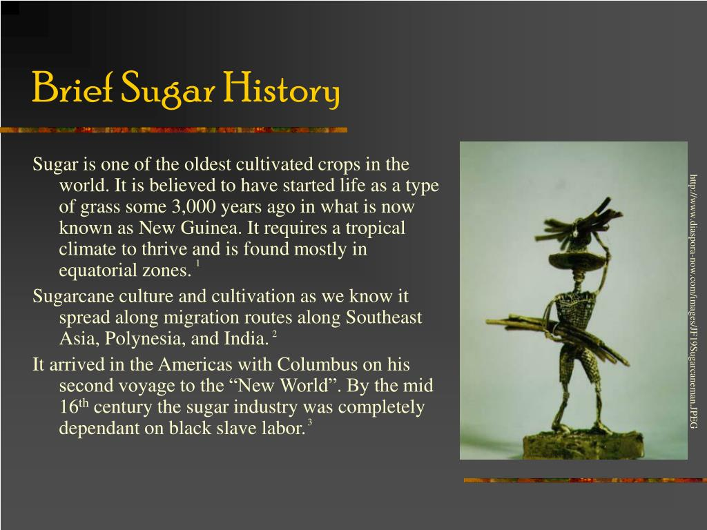 Brief Sugar History