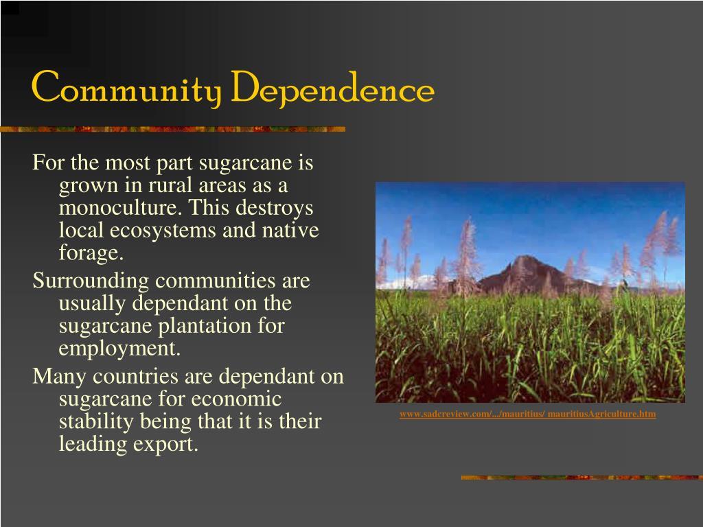 Community Dependence