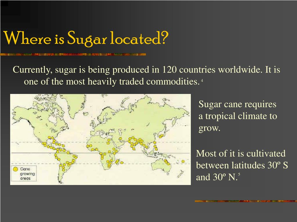 Where is Sugar located?