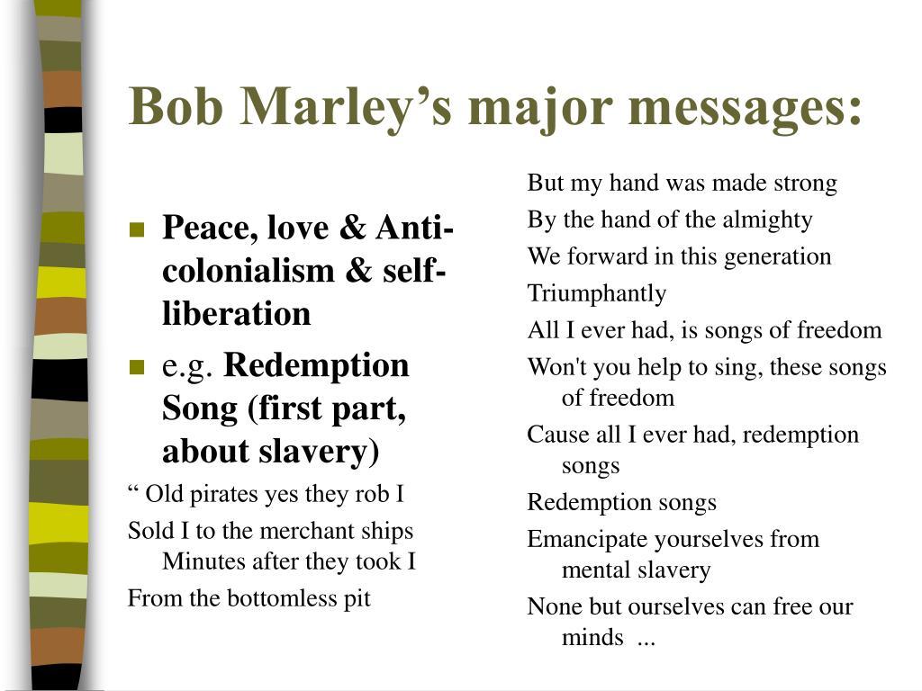 Peace, love & Anti-colonialism & self-liberation