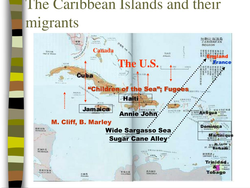 The Caribbean Islands and their