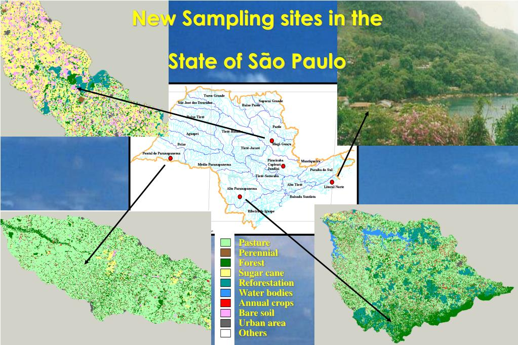 New Sampling sites in the