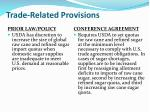 trade related provisions11