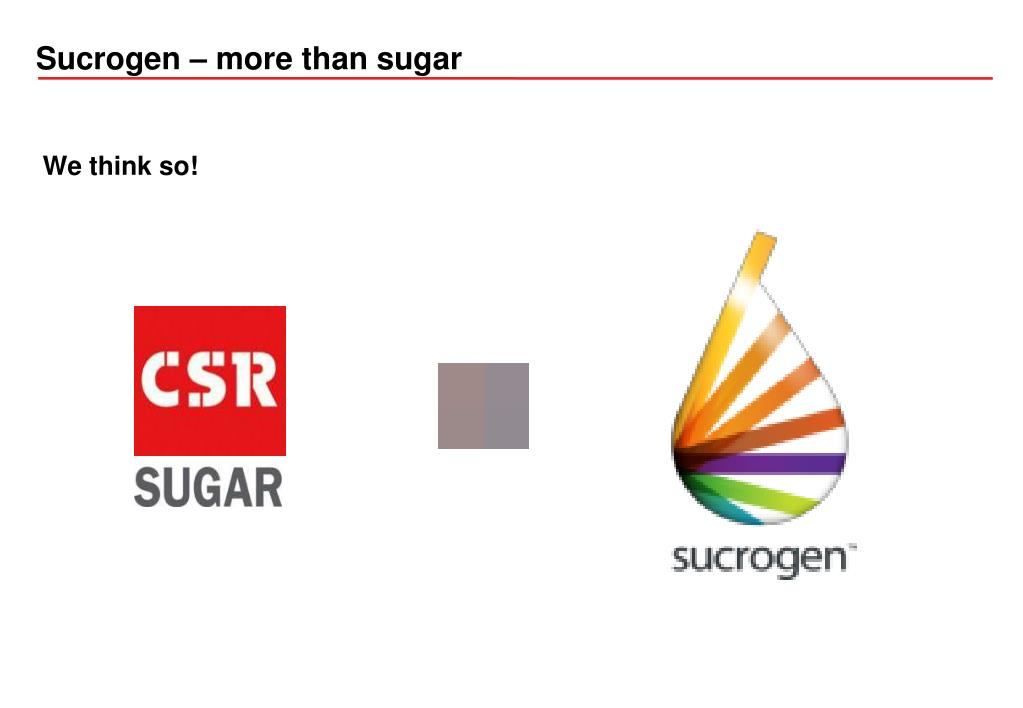 Sucrogen – more than sugar