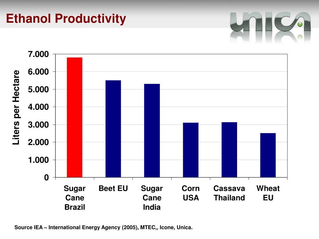 Ethanol Productivity