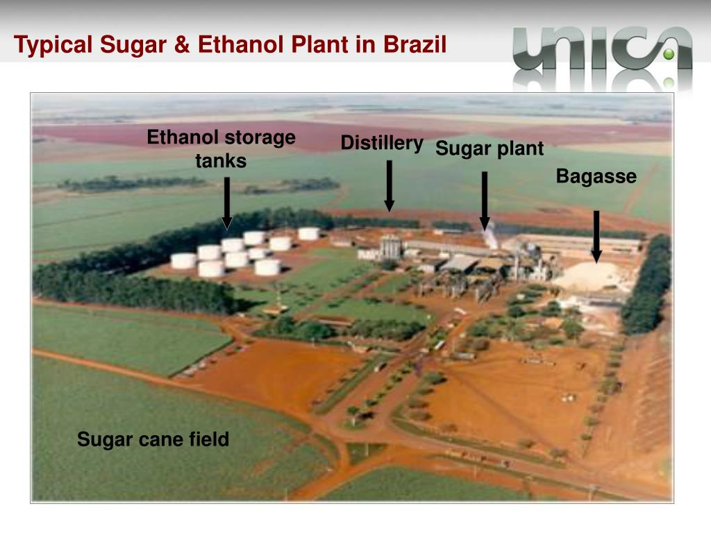 Typical Sugar & Ethanol Plant in Brazil
