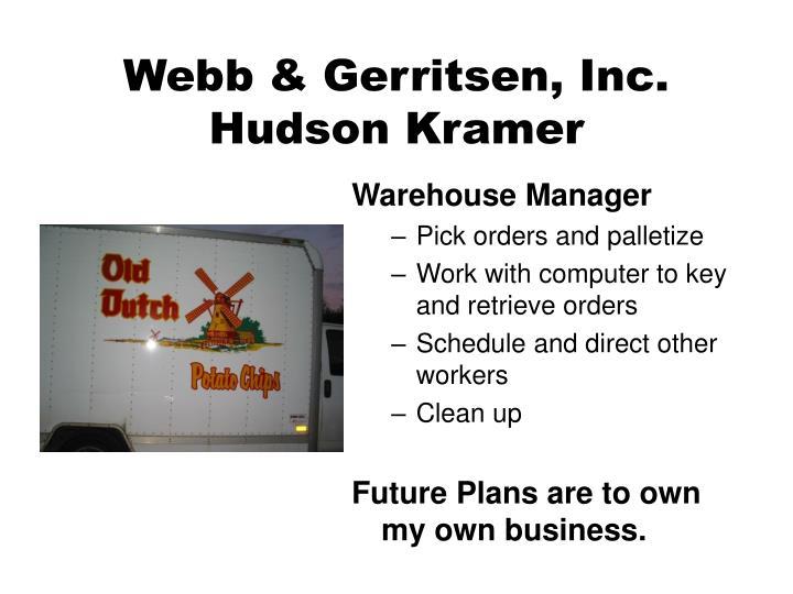 Webb & Gerritsen, Inc.