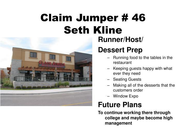 Claim Jumper # 46