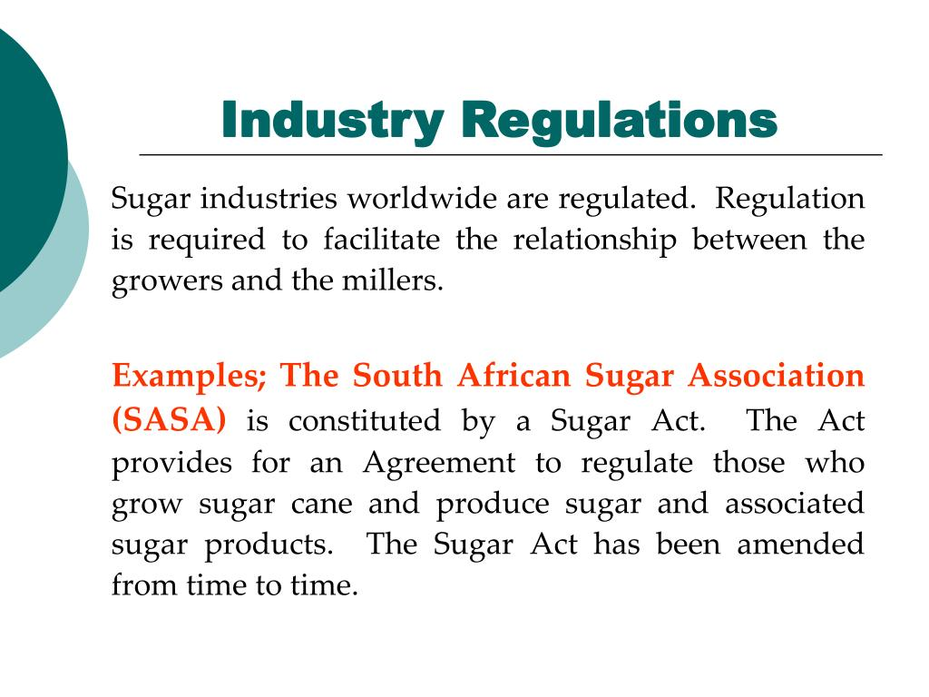 Industry Regulations