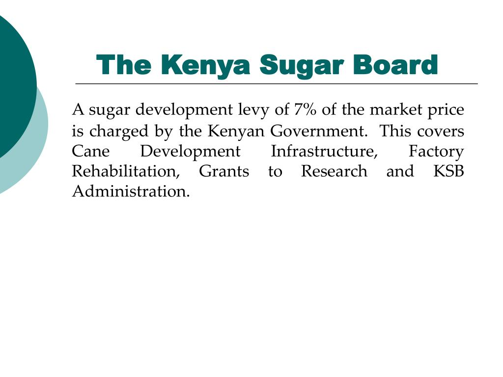 The Kenya Sugar Board