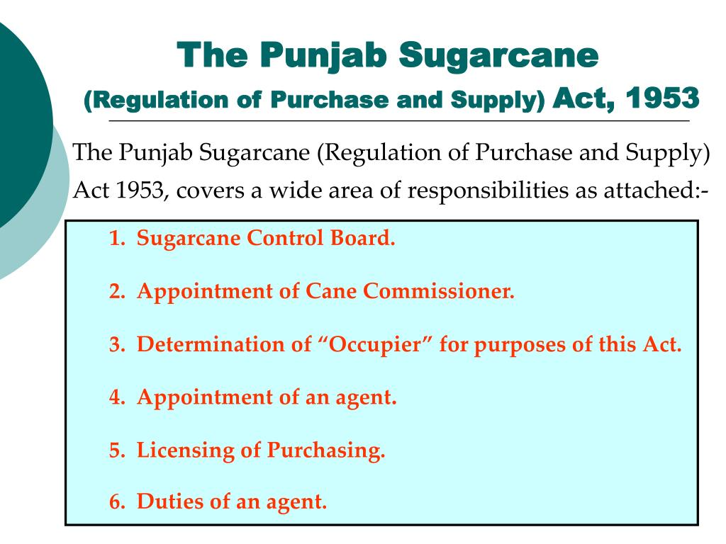 The Punjab Sugarcane