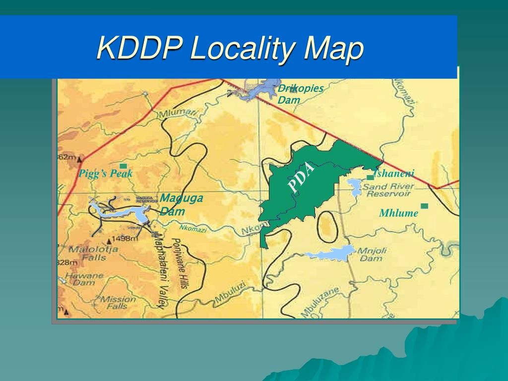 KDDP Locality Map