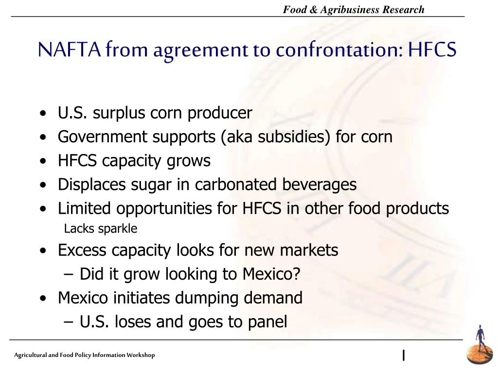 NAFTA from agreement to conf