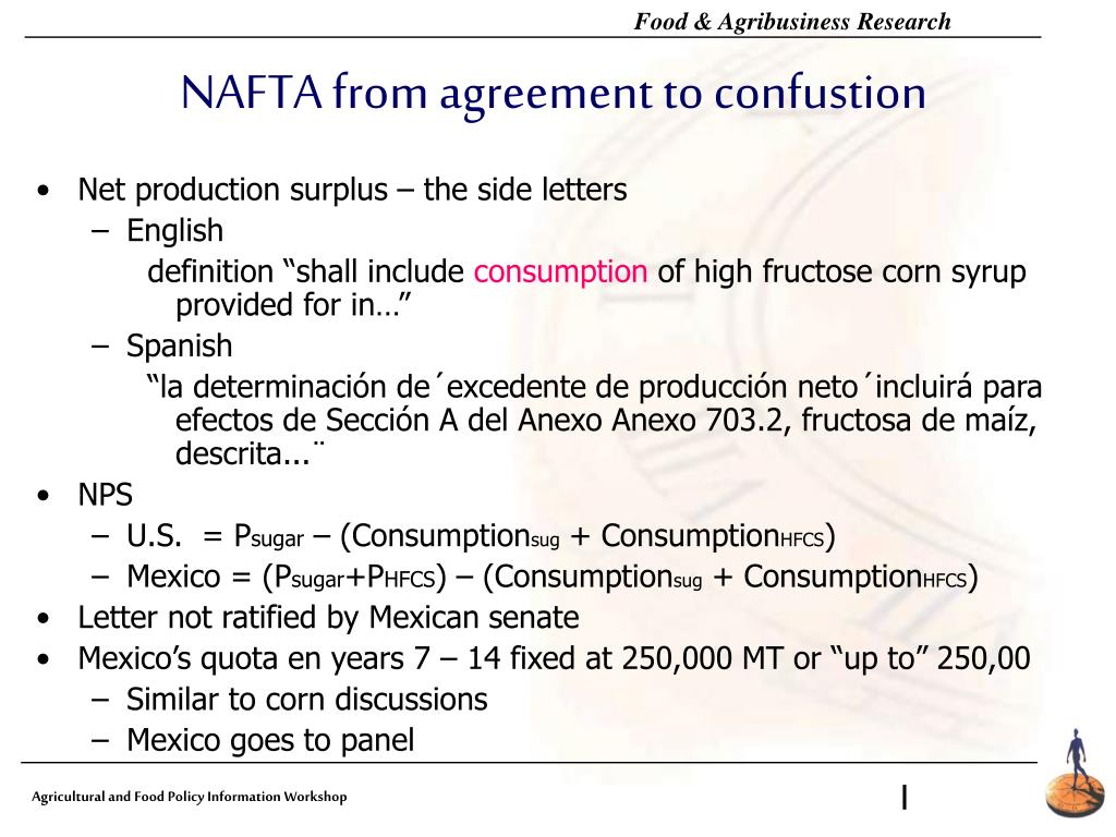 NAFTA from agreement to confustion