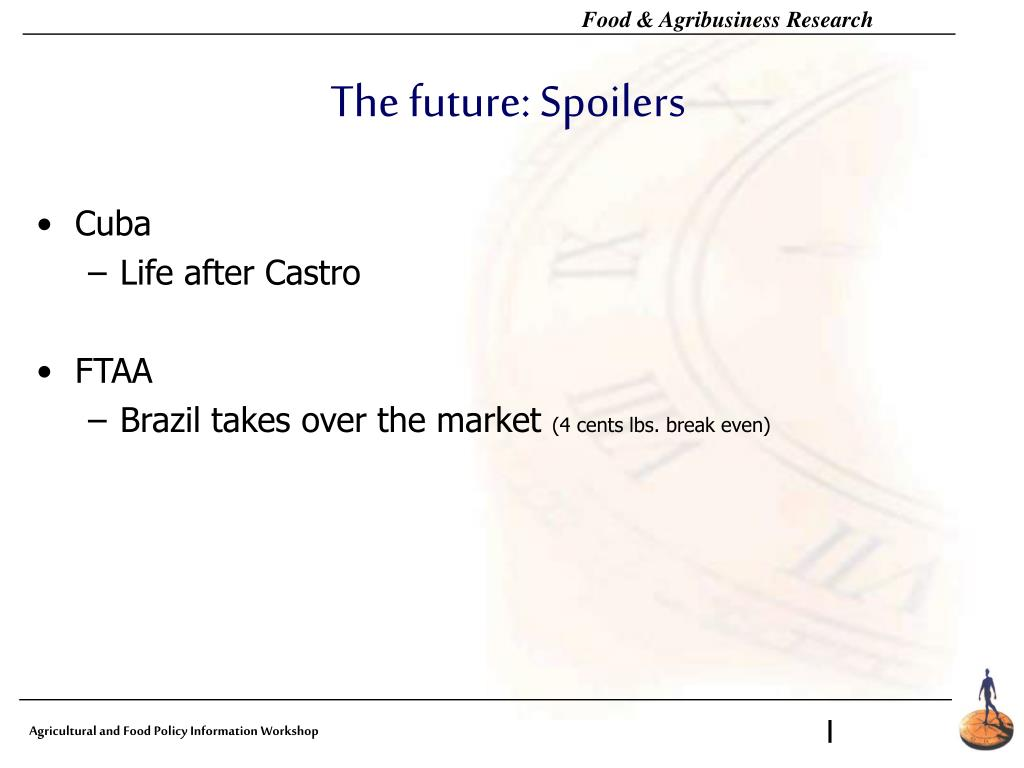 The future: Spoilers