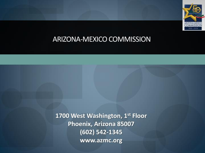 Arizona-Mexico Commission