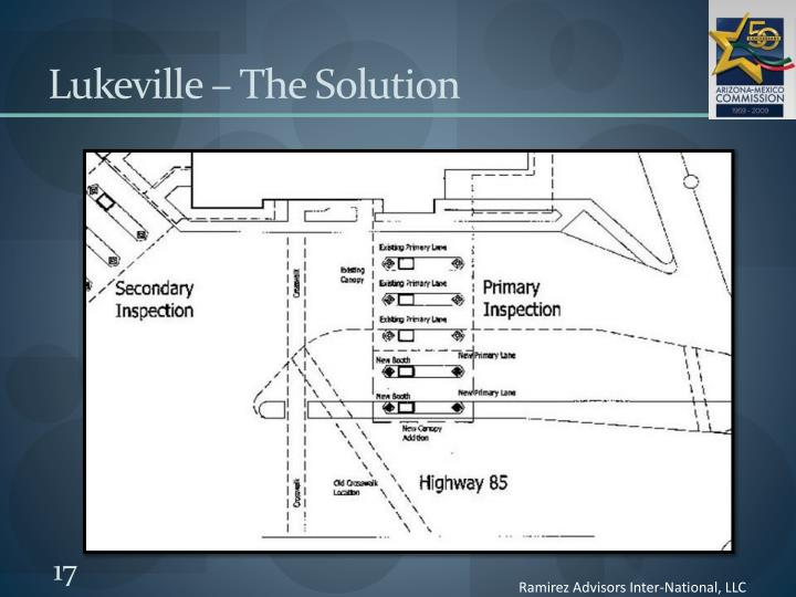 Lukeville – The Solution