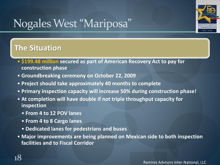 "Nogales West ""Mariposa"""