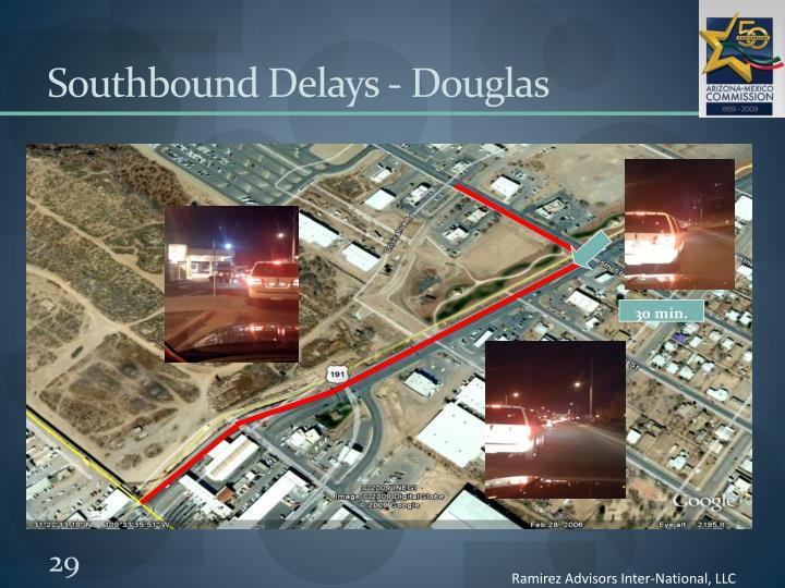 Southbound Delays - Douglas