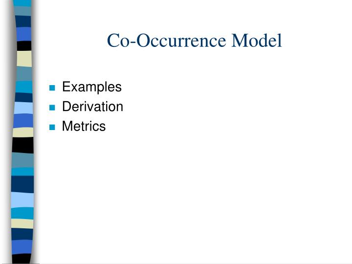 Co-Occurrence Model