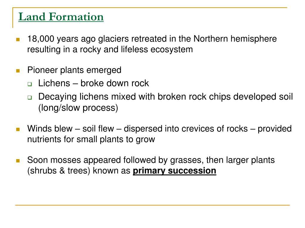 Land Formation