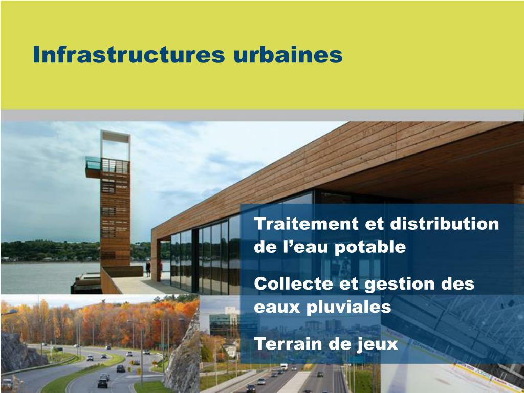 Infrastructures urbaines