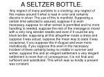 a seltzer bottle