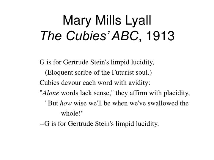 Mary Mills Lyall