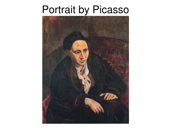 Portrait by Picasso