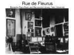 rue de fleurus beinecke rare book and manuscript library yale university