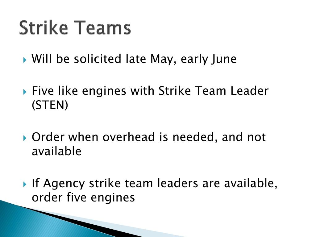 Strike Teams