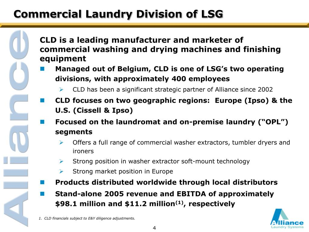Commercial Laundry Division of LSG
