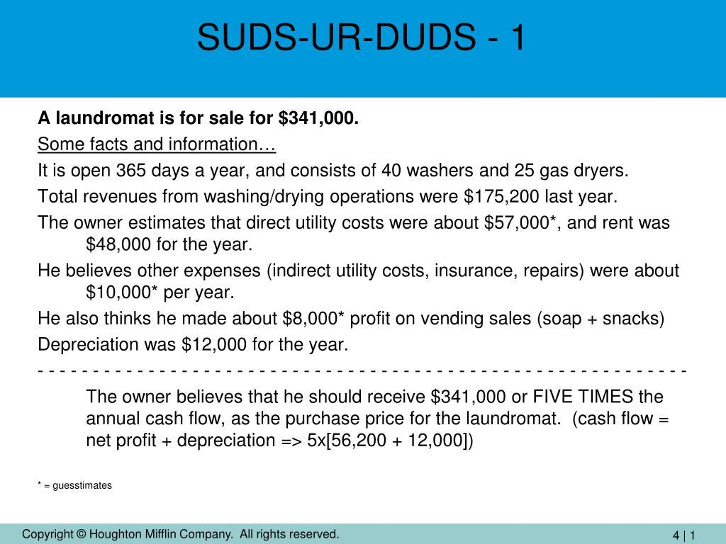 SUDS-UR-DUDS - 1