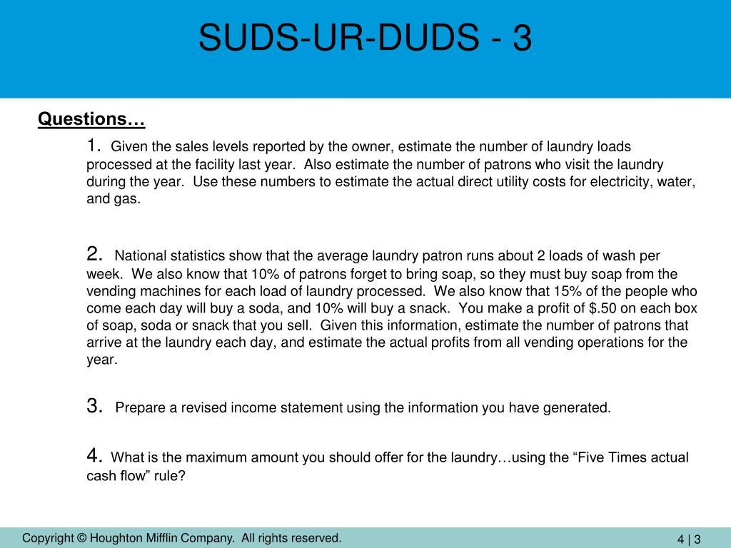 SUDS-UR-DUDS - 3